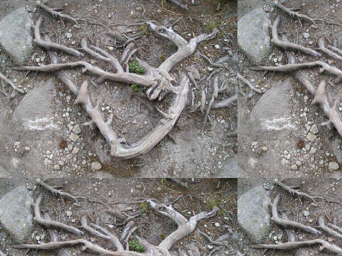 Tapeta Pixerstick Kořen - Hory