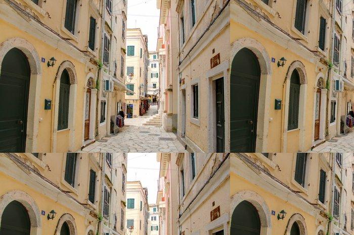 Tapeta Pixerstick Korfu - Evropa