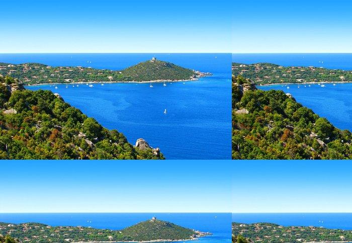 Tapeta Pixerstick Korsika bay krajina - Evropa