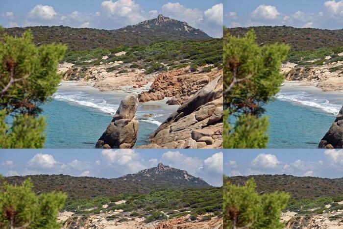 Tapeta Pixerstick Korsika Beach - Evropa