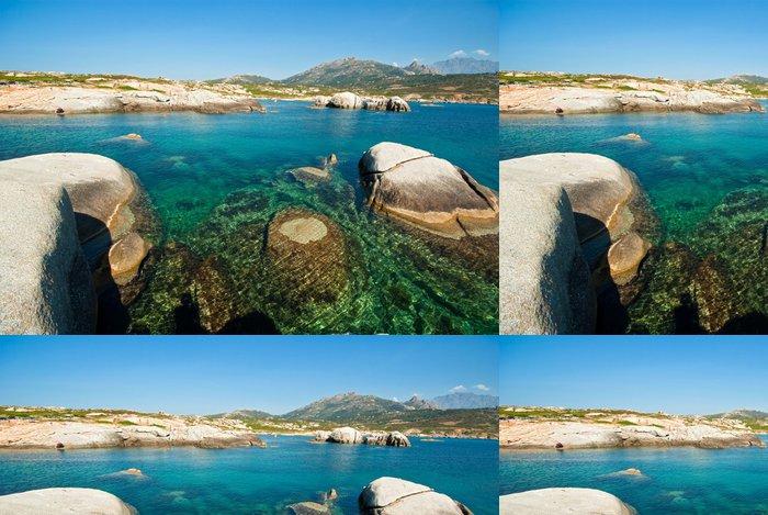 Tapeta Pixerstick Korsika vody - Evropa