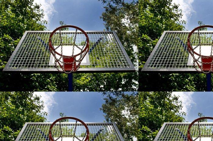 Tapeta Pixerstick Koš pro hraní basketbalu - Sportovní potřeby