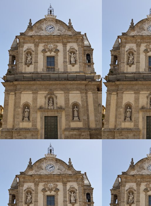 Tapeta Pixerstick Kostel College - Evropa