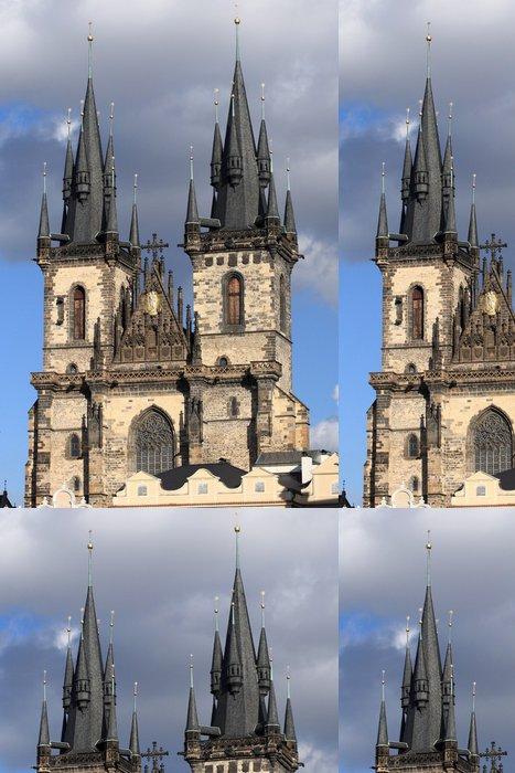 Tapeta Pixerstick Kostel Panny Marie před Týnem v Praze - Evropská města