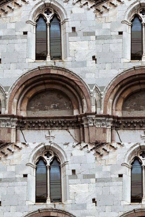 Vinylová Tapeta Kostel Santa Giulia.Lucca, Toskánsko, Itálie - Evropa