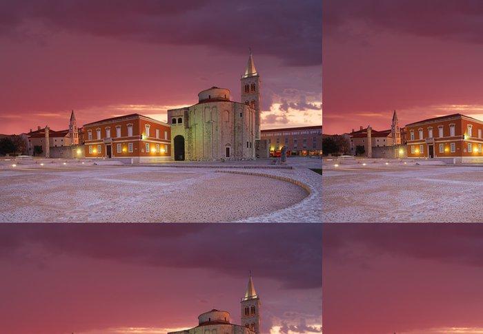 Tapeta Pixerstick Kostel sv Donata, Zadar, Chorvatsko - Evropa