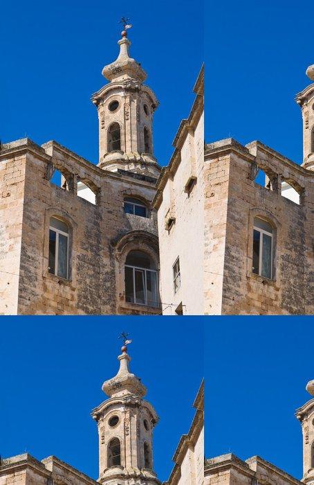 Tapeta Pixerstick Kostel sv. Josef a Anna. Monopoly. Puglia. Itálie. - Prázdniny