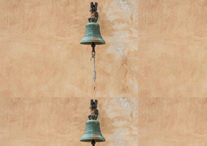 Tapeta Pixerstick Kostelní zvon a stěna na pozadí - Evropa