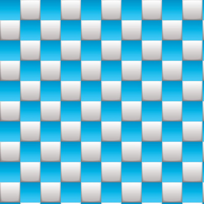 Tapeta Pixerstick Kostkovaný deska modrá - Pozadí