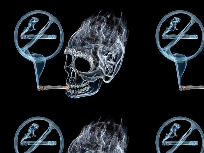 Tapeta Pixerstick Kouření je nebezpečné - Témata