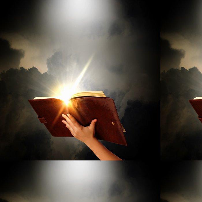 Tapeta Pixerstick Kouzelná kniha - Části těla