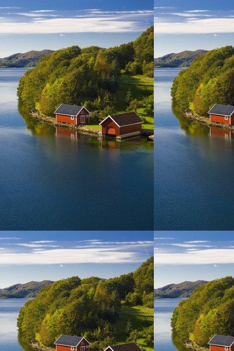 Tapeta Pixerstick Krajina jižního Norska - Evropa