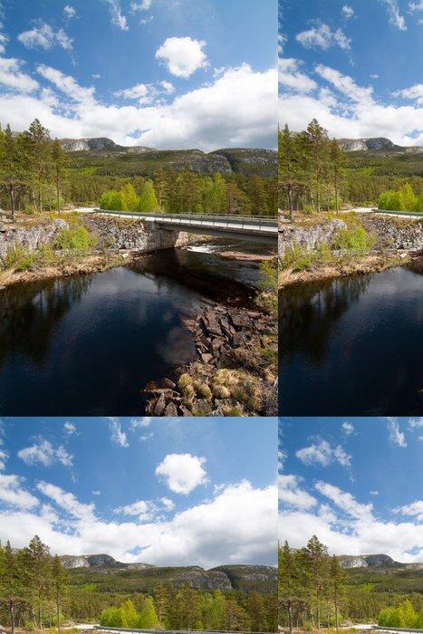 Tapeta Pixerstick Krajina Norska - Evropa