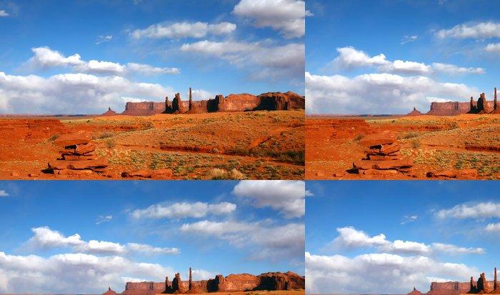 Tapeta Pixerstick Krajina pouštní oblasti Monument Valley USA - Příroda a divočina