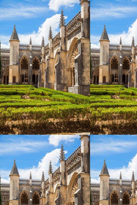 Tapeta Pixerstick Královský klášter kláštera Batalha, Portugalsko - Prázdniny