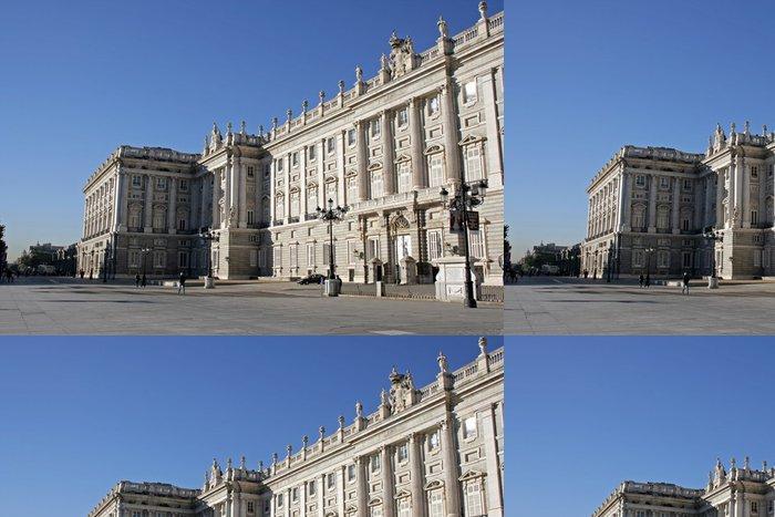 Tapeta Pixerstick Královský palác v Madridu - Evropská města