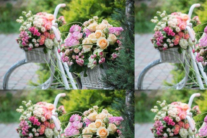 Tapeta Pixerstick Krása růží - Svoboda