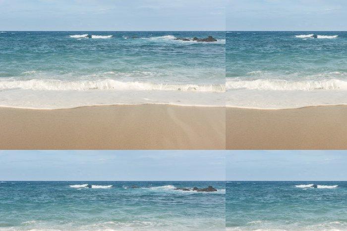 Tapeta Pixerstick Krásná krajina pláže - Štěstí