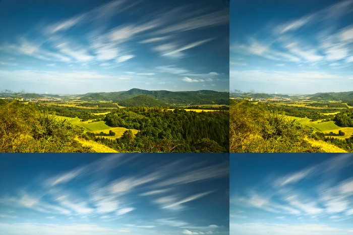 Tapeta Pixerstick Krásná krajina - Venkov