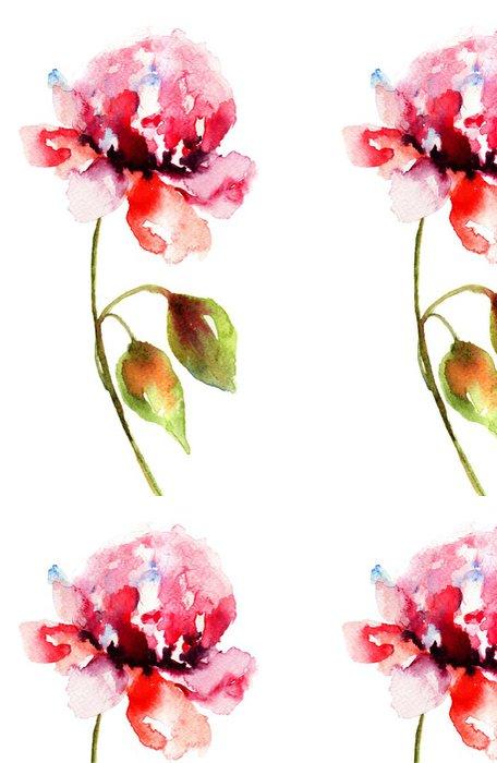 Tapeta Pixerstick Krásná pivoňka květ - Květiny