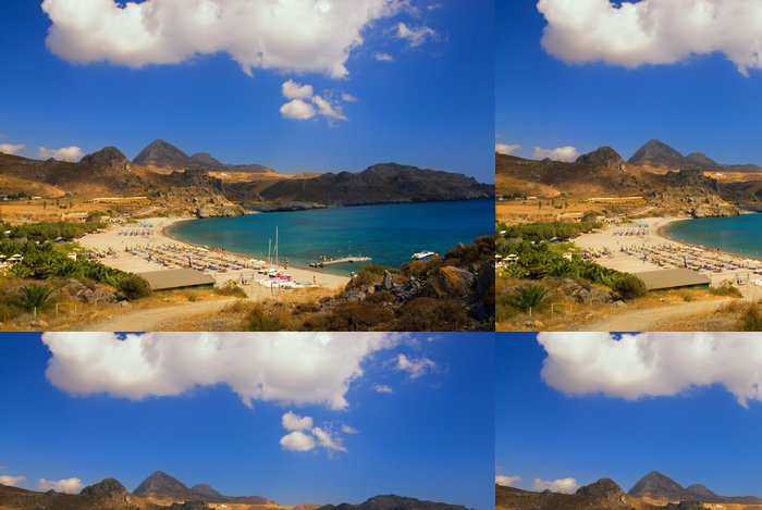 Vinylová Tapeta Krásná scéna na pláži - Ostrovy