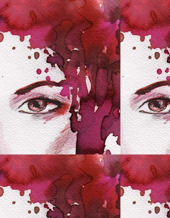 Vinylová Tapeta Krásná žena - Části těla