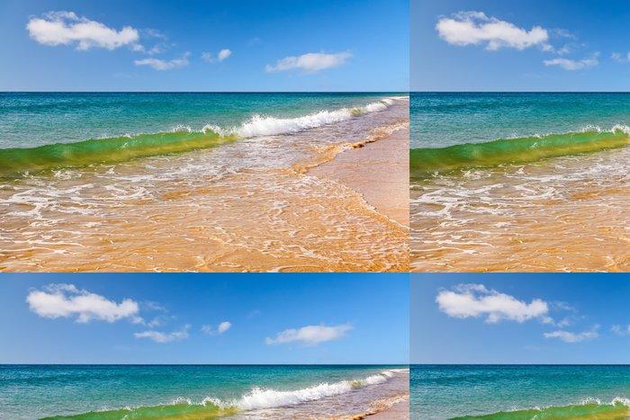 Tapeta Pixerstick Krásné ocean beach - Roční období