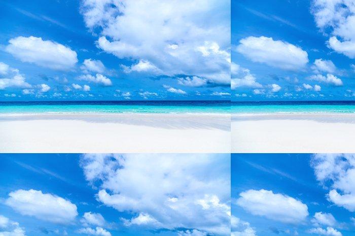 Tapeta Pixerstick Krásné pláže a tropické moře - Prázdniny