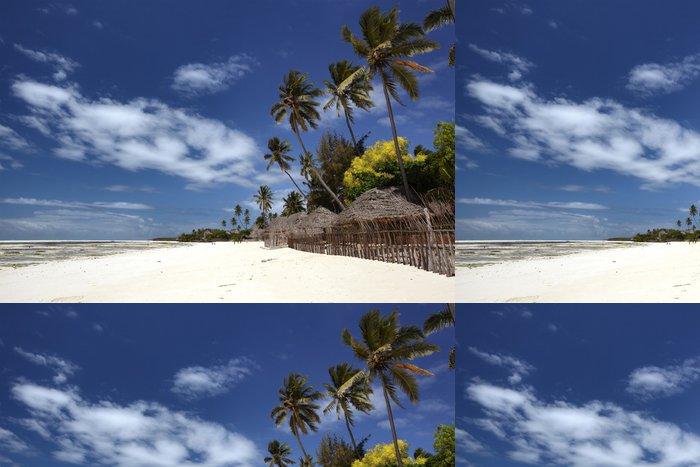 Tapeta Pixerstick Krásné pláže Zanzibaru - Témata