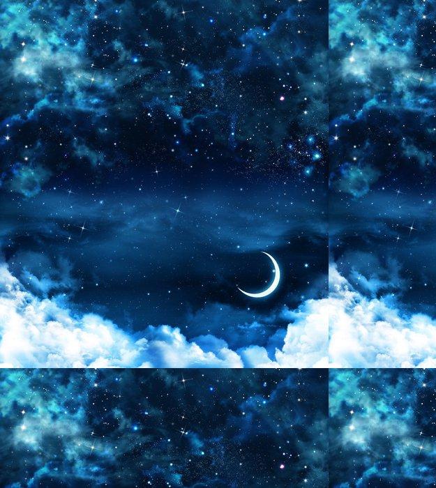 Tapeta Pixerstick Krásné pozadí, noční obloha - Témata
