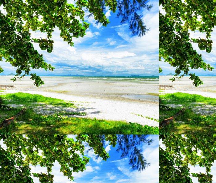 Tapeta Pixerstick Krásné tropické krajiny. Samui Island, Thajsko. - Voda