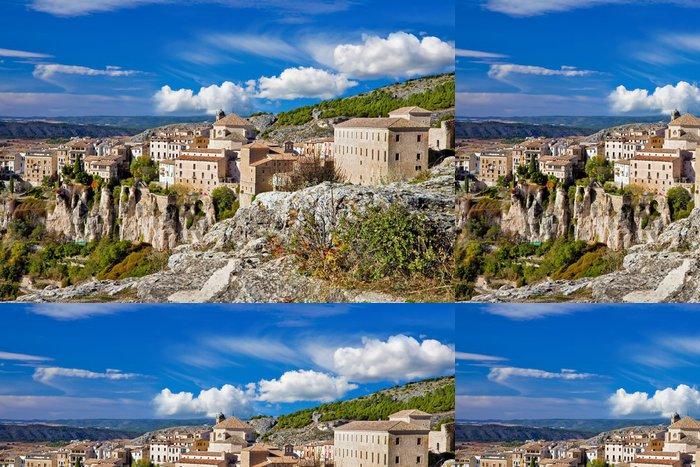 Tapeta Pixerstick Krásné úžasné město Španělska - Cuenca - Témata