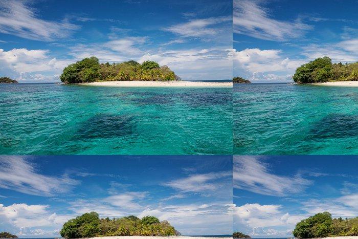Tapeta Pixerstick Krásný malý ostrov - Prázdniny