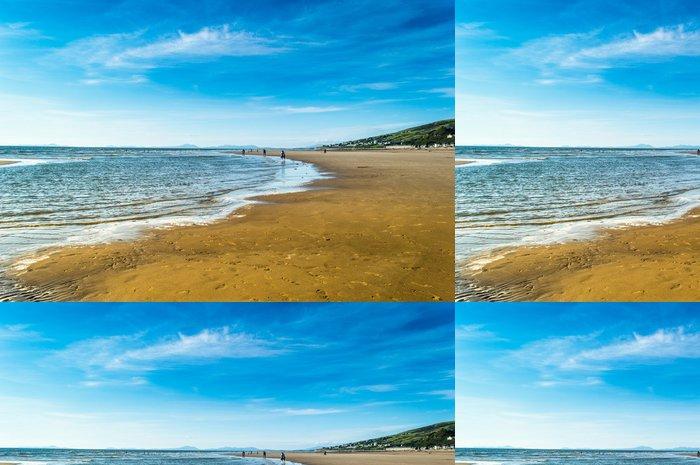 Vinylová Tapeta Krásný slunečný den na pláži - Prázdniny