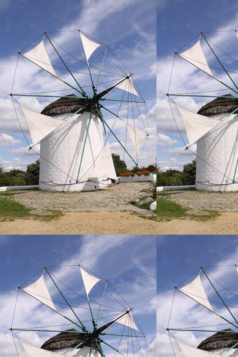 Vinylová Tapeta Krásný větrný mlýn v úzké-up - Zemědělství