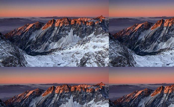 Tapeta Pixerstick Krásný východ slunce v Rocky Mountain - Evropa