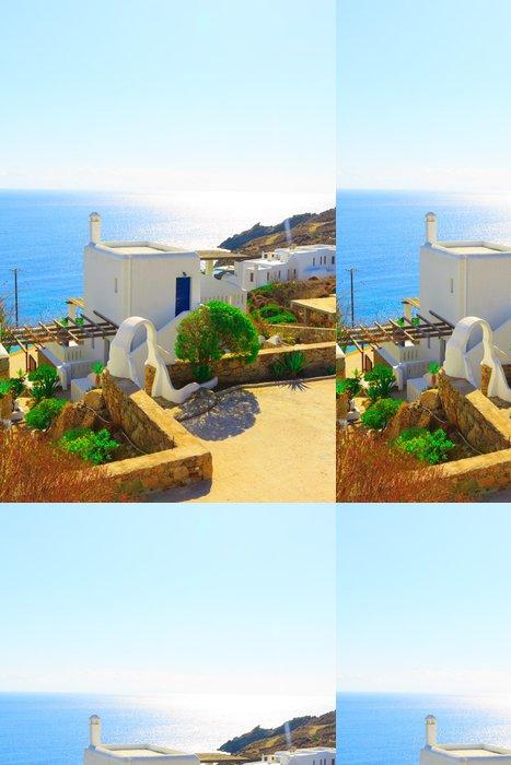 Tapeta Pixerstick Krásný výhled na moře na slavný ostrov Santorini Řecko - Evropská města
