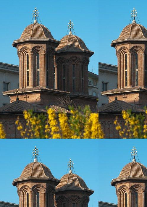 Tapeta Pixerstick Kretzulescu kostel v Bukurešti, Rumunsko - Evropa