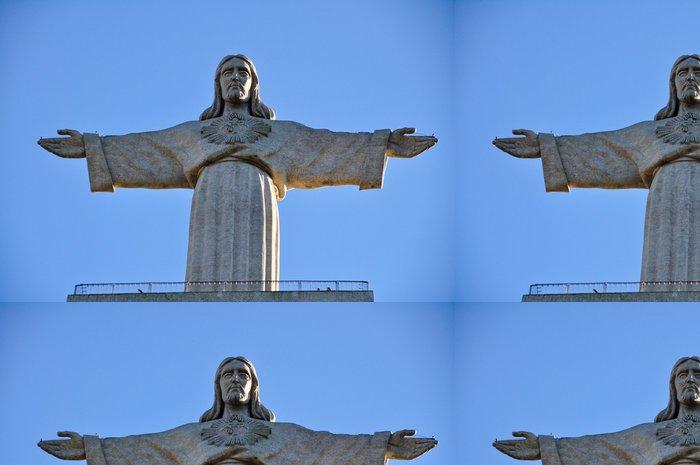 Vinylová Tapeta Kristus - Evropská města