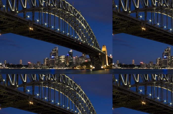 Tapeta Pixerstick Kultovní Harbour Bridge v Sydney, Austrálie - Témata