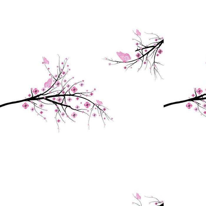 Tapeta Pixerstick Květ třešňový - Květiny