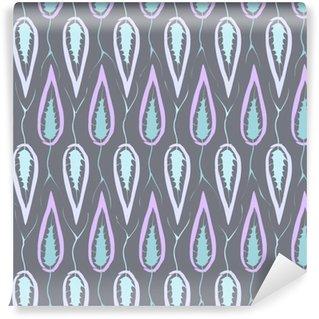 Vinylová Tapeta Květinové bezproblémové vzorek retro textilie textura s ozdobným LEA