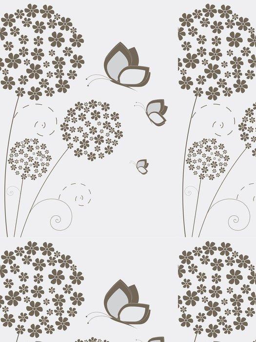 Tapeta Pixerstick Květinové pozadí s květinami - Národní svátky