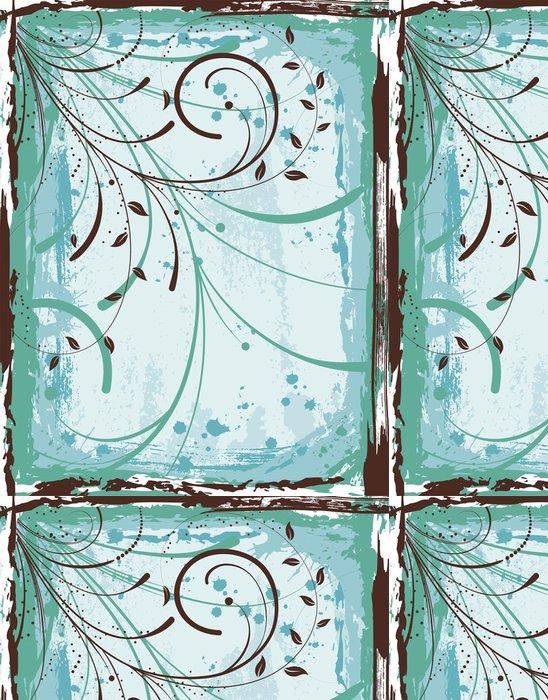 Tapeta Pixerstick Květinové pozadí - Pozadí
