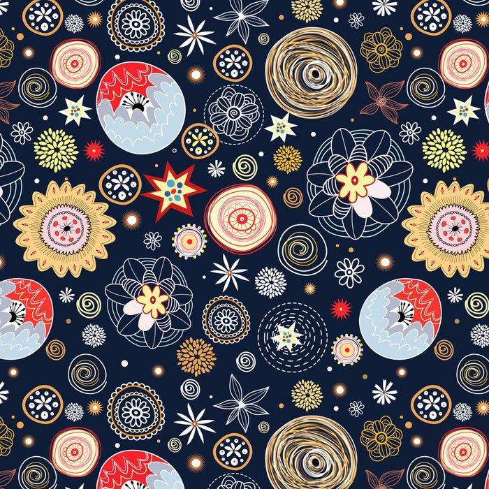 Tapeta Pixerstick Květinové textury - Struktury