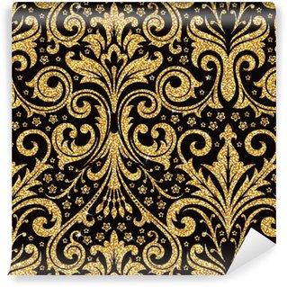 Vinylová Tapeta Květinové zlatý tapety