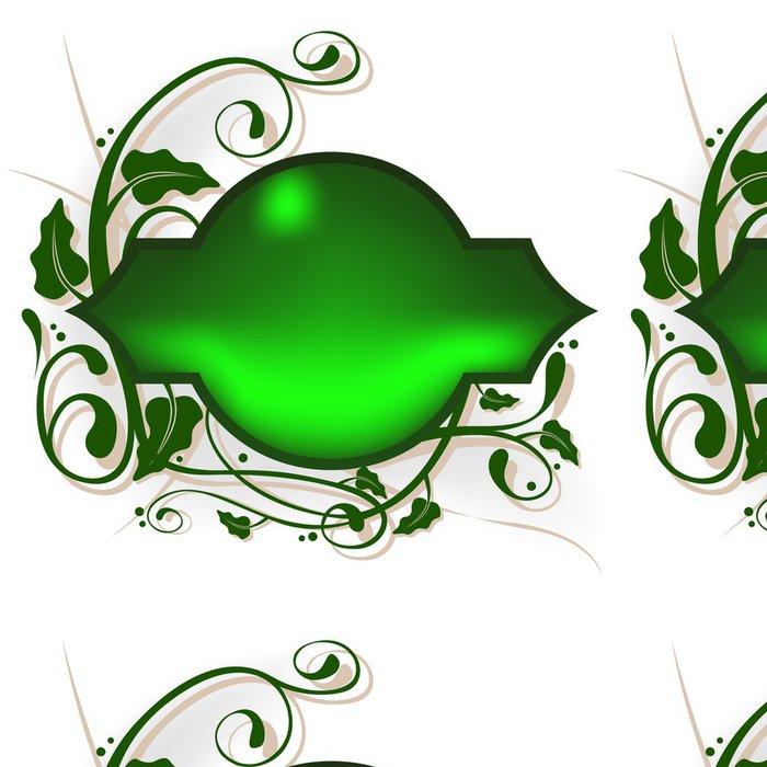 Tapeta Pixerstick Květinový banner 02 - Struktury