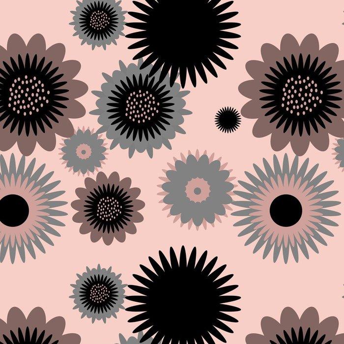 Vinylová Tapeta Květinový vzor - Umění a tvorba