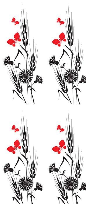 Vinylová Tapeta Květiny a uši - Rostliny