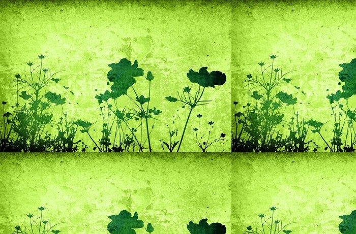 Tapeta Pixerstick Květiny abstraktní - Rostliny